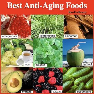 Best anti-aging foods...
