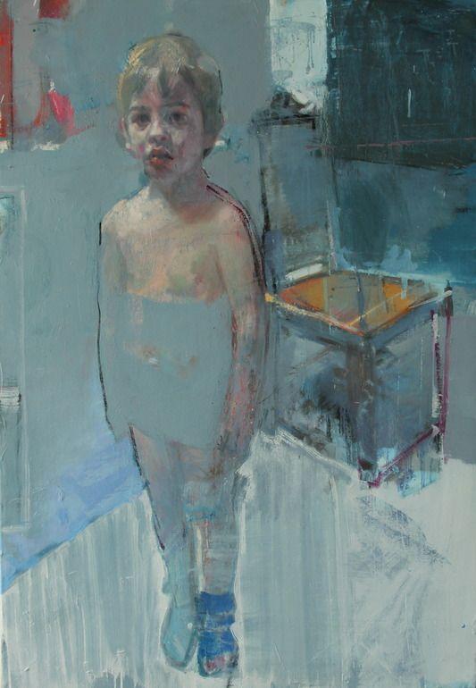 "christos tsimaris; Oil, 2013, Painting ""odd socks"""