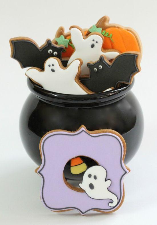 cute halloween decorated cookies  HV: cukormáz habzsák dekorcs? coupler Megvásárolhatsz mindent a GlazurShopban! shop.glazur.hu