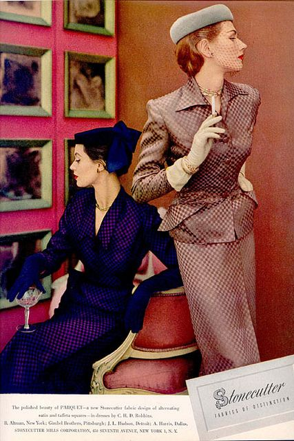 Chic 1950s suit dress ideas for ladies who lunch, but aren't on speaking terms ;D #vintage #1950s #fashion