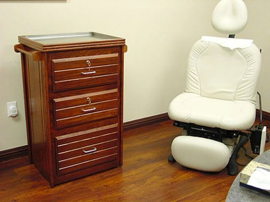 Conducting Wood Treatment: Custom Made Oak Wood Treatment Cart Doctors Office ~ lanewstalk.com Indoor Furniture Inspiration