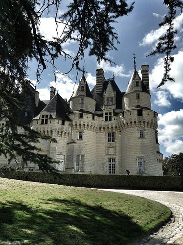 Usse castle in France