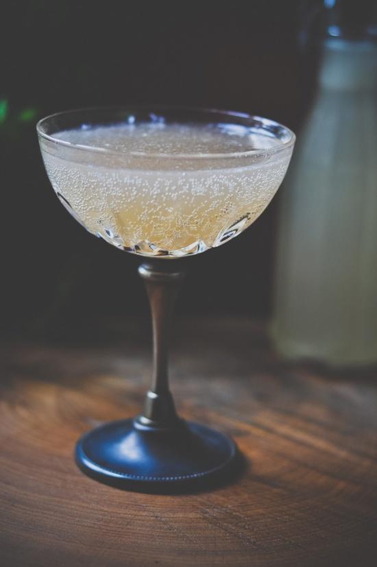 Poet's Muse: Pernod, cloudy apple juice, tonic, lemon