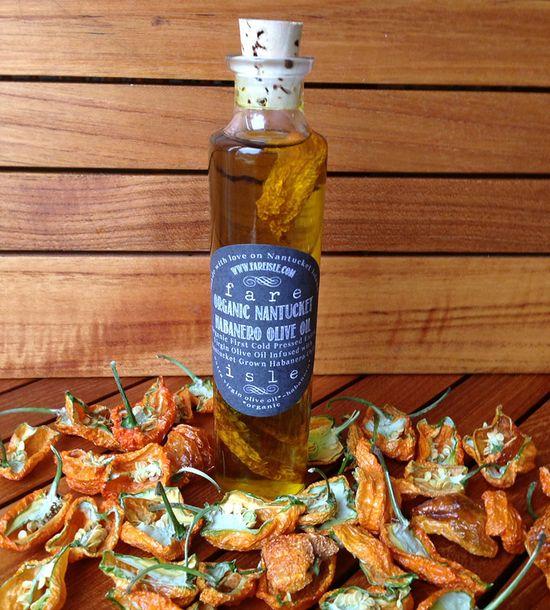 Habanero Chili Infused Olive Oil