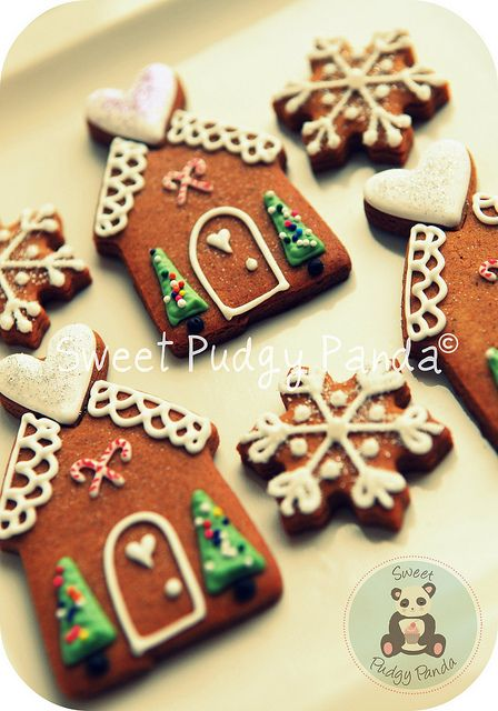 Gingerbread House #cookies #christmas #gingerbread