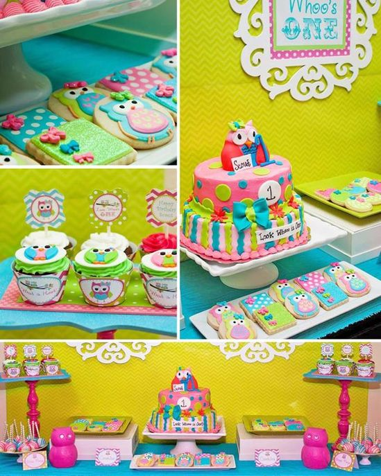 Look Whoo's One Owl Party with So Many Darling Ideas via Kara's Party Ideas KarasPartyIdeas.com #Hoot #Owl #PartyIdeas #PartySupplies #GirlParty