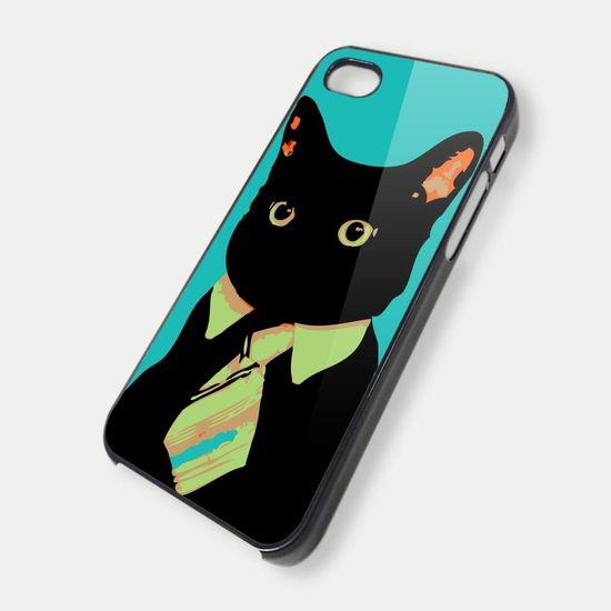 black cat - iPhone 4 Case, iPhone 4s