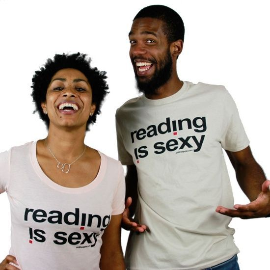 Tee: Reading Is Sexy by Exittheapple / Oyin Handmade Oyin