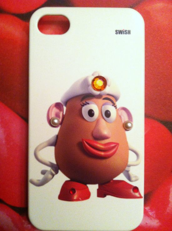 iPhone 4 and iPhone 4S Disney Mrs. Potato Head Toy Story Bling case