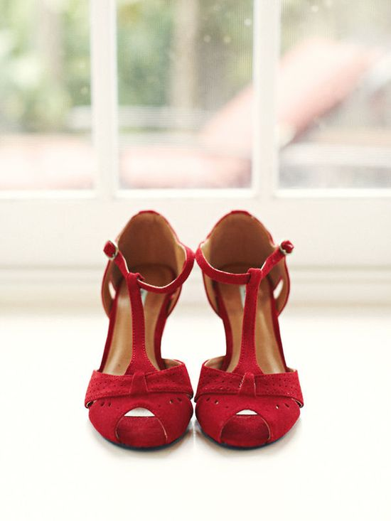 red t-strap shoes =)