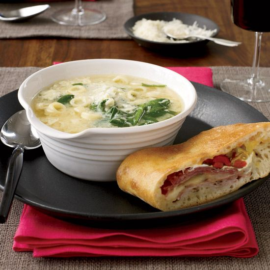 Ham, Sorpressata, and Two-Cheese Stromboli // More Italian Main Dishes: www.foodandwine.c... #foodandwine