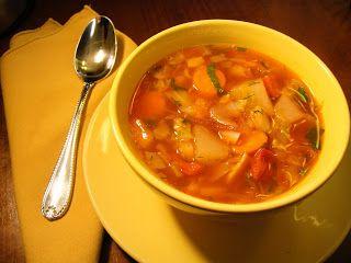Provencal Vegetable Soup - GrabandgoRecipes.com Russian Home Cooking Recipes