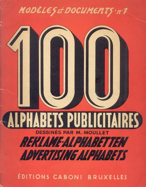 Stay up to date with daily web design news:  www.fb.com/...    French Advertising Alphabets from 1946    #webdesign #design #designer #inspiration #user #interface #ui #web #typography #poster #font #type