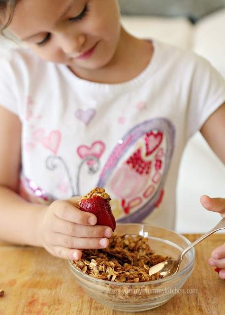 Fun healthy kids' cooking recipe from YummyMummyKitchen...