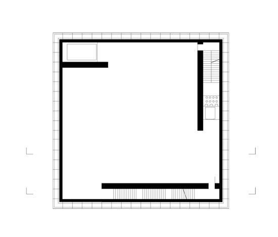 Art Museum Bregenz plan 02 / Peter Zumthor Drawings