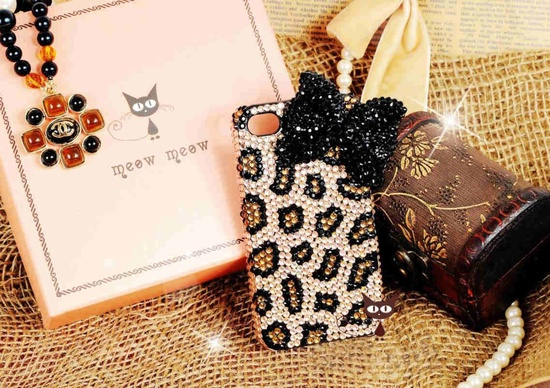 iphone 4 case leopard iphone 4 cover. $27.98, via Etsy.