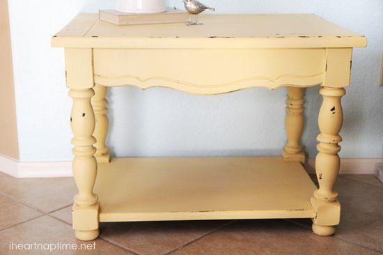 how to paint furniture-chalk paint