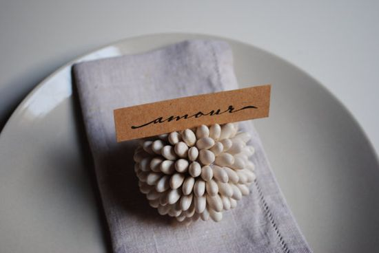 place card holder.