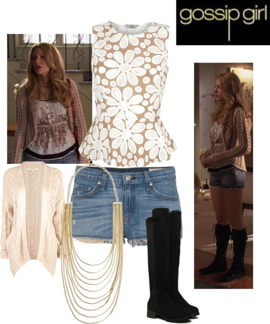 """Gossip Girl 1x02 - Serena"" by rossellalola on Polyvore"