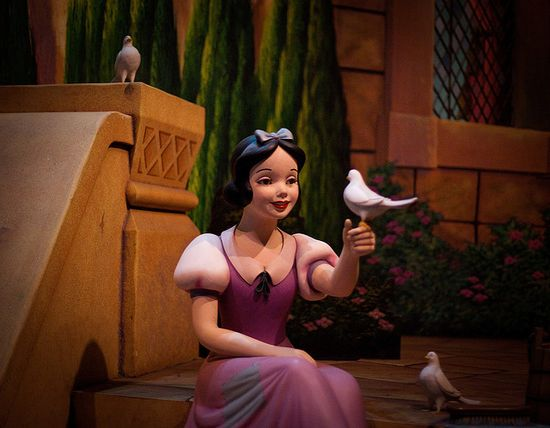 Magic Kingdom - Scene from Snow White's Scary Adventures