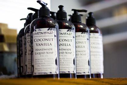 Handmade Liquid Soap from soapmarked.com - Coconut