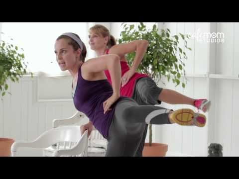 30-Minute Calorie Burn Workout With Weights - The CafeMom Studios Workout - YouTube