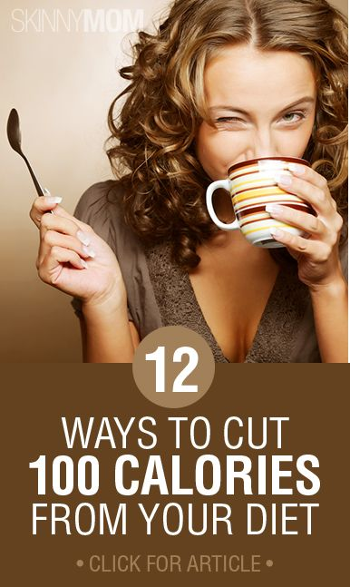 Cutting calories from your diet can be tough.. find out 12 ways to easily do it here!