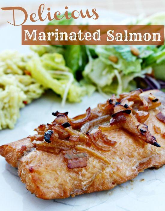Delicious Marinated Salmon