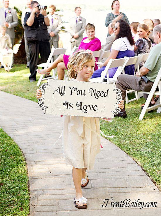 Love #WeddingSign