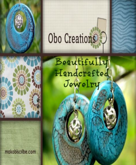 Gorgeous handmade jewelry from Obo Designs