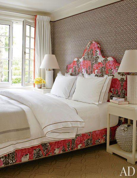 China Seas fabric on walls
