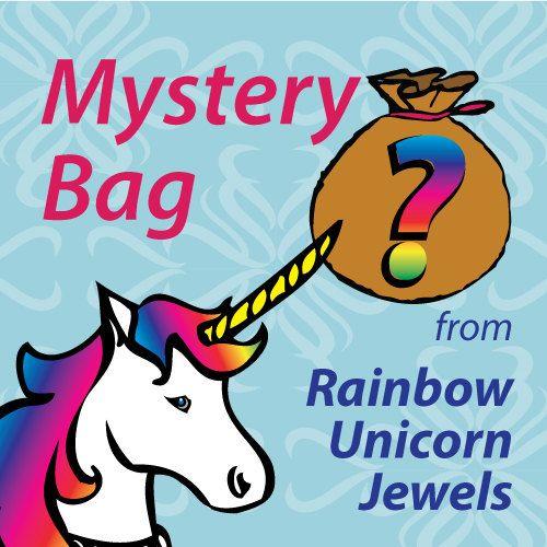 Mystery Bag  Miniature handmade jewelry by RainbowUnicornJewels
