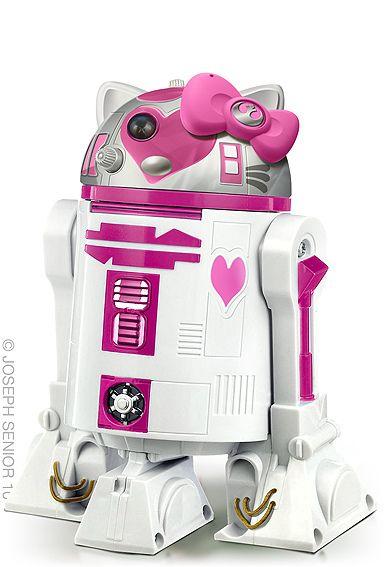 Hello Kitty + Star Wars mashup.