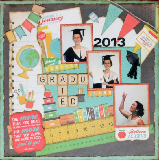 """Graduated 2013"" - Scrapbook.com"