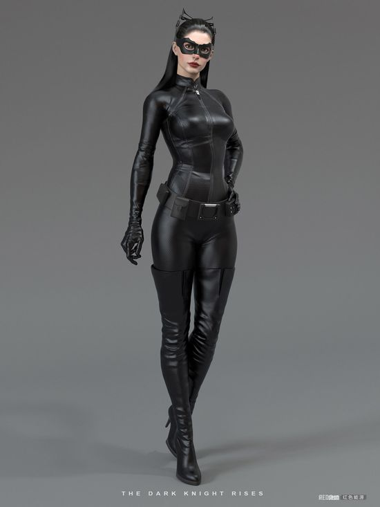 Catwoman (Anne Hathaway) - 3D Game Art by Uri So - What an ART