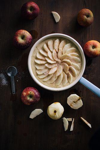 Apple Cake with Cinnamon Sugar