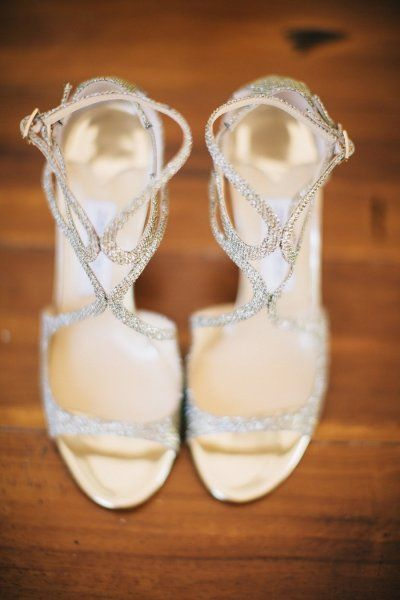 strappy sparkle sandals