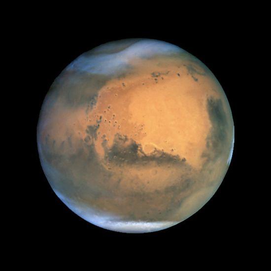 Mars image, universe, planet