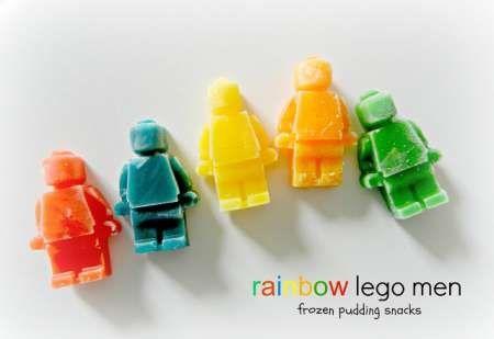 Lego man frozen pudding snacks food snacks food art food art images food art photos food art pictures food art pics pudding lego man
