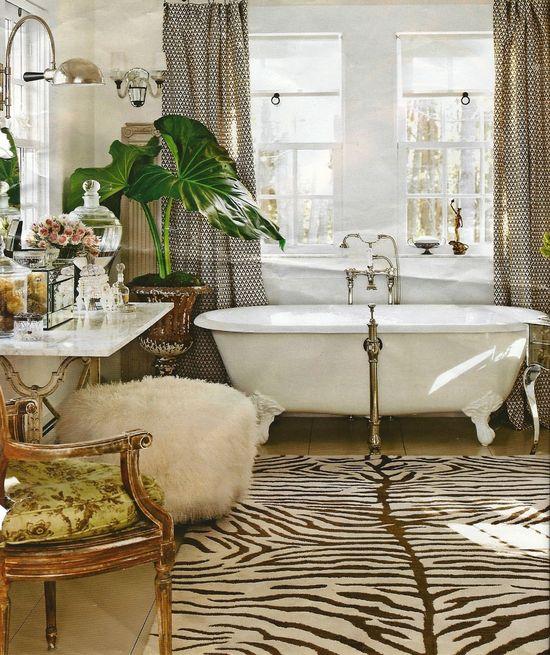 fancy bath