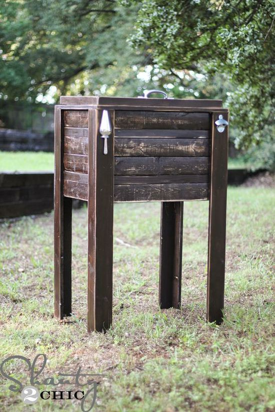 DIY Furniture : DIY Cooler