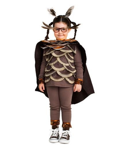 Homemade Halloween Costumes for Kids: Wise Owl costume (click through for how-to & more)