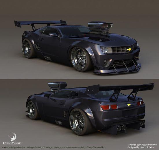 d3capmode: turbo, visual development, vehicle design