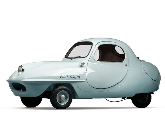 ble car / kei-car firmy Fuji