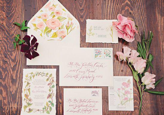 Vintage garden wedding inspiration