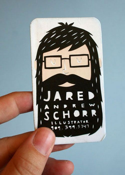 Nice business card.
