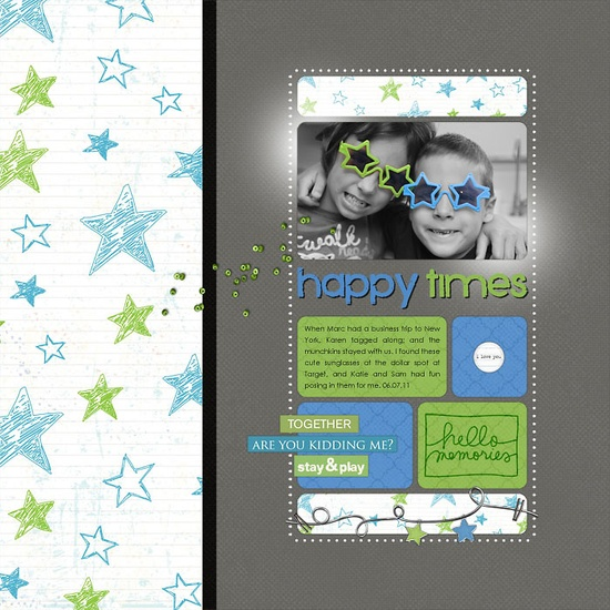 Happy Times - Scrapbook.com