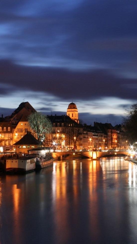 Night in Strasbourg,