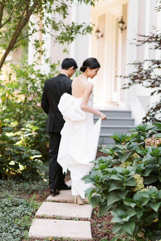 Elegant Outdoor Wedding. Great wedding vows