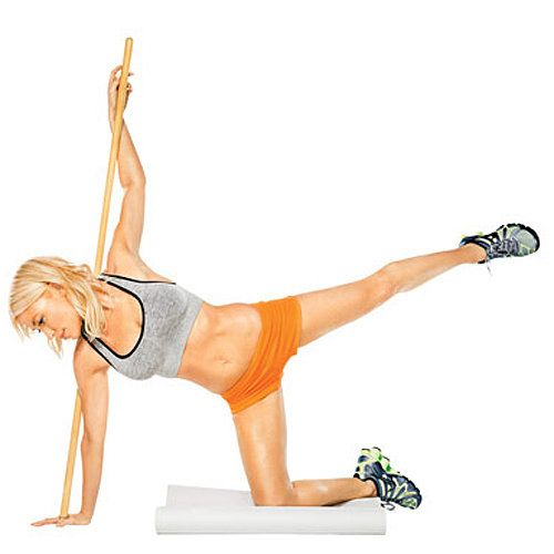 Tracy Anderson Broom Workout